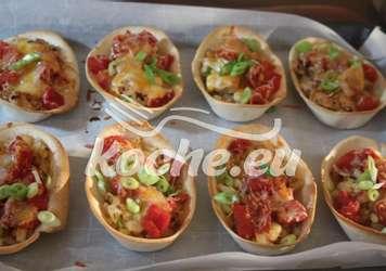 Chicken Ranch Bacon Taco Boats