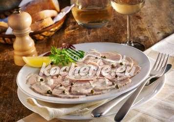 Kalbfleisch in Thunfischsauce