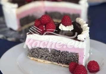Rezept Torte: Mohn trifft Himbeere