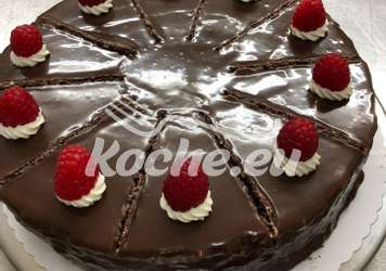 Schoko-Mandel-Torte