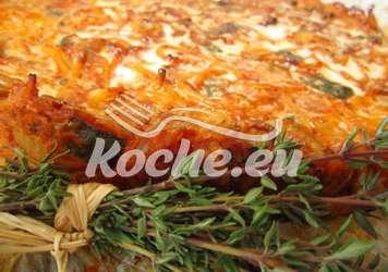 Spagetti Hackfleisch Torte