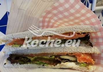 Tramezzini mit Lachs